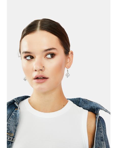 Game Of Life Dice Earrings
