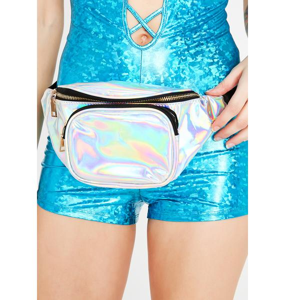A Galaxy Away Hologram Fanny Pack