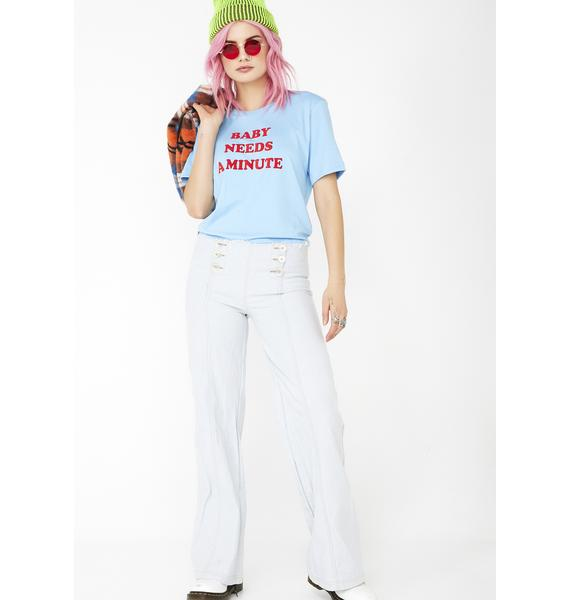 Top Knot Goods Baby Needs A Minute Graphic Tee