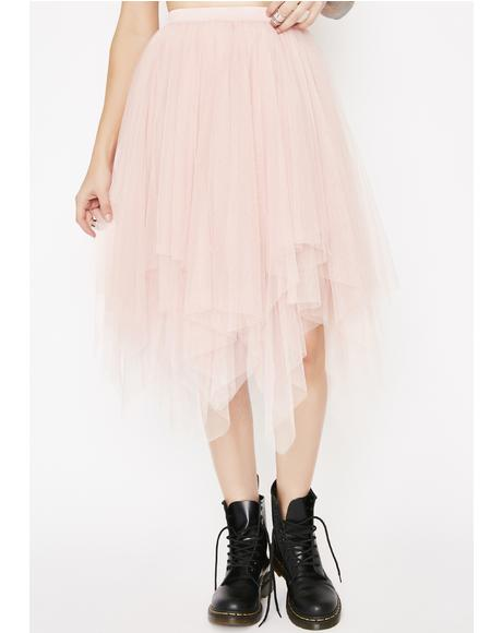 Mz. Twirlin' On Haterz Tulle Skirt
