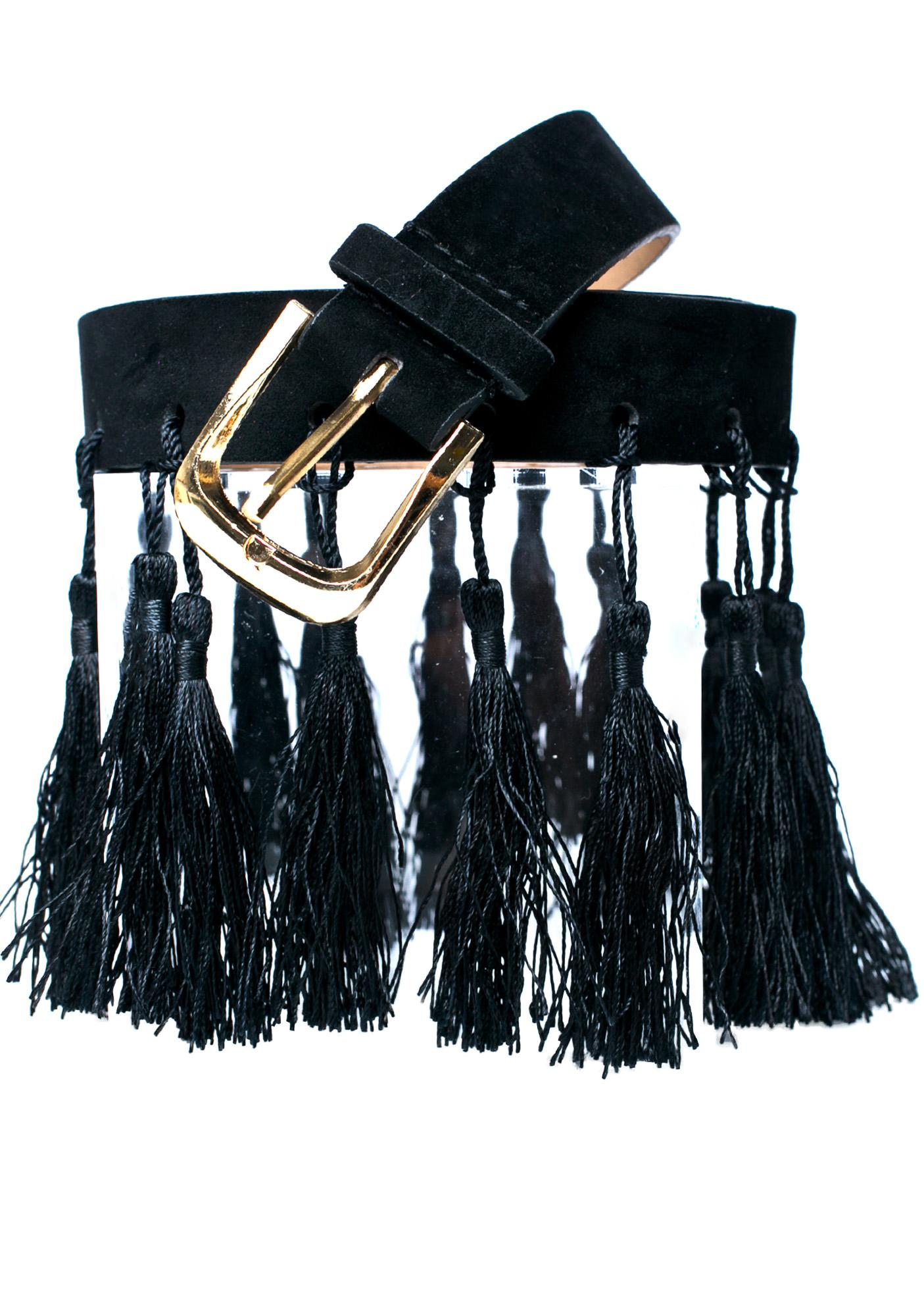 Pyro Dancer Tassel Belt
