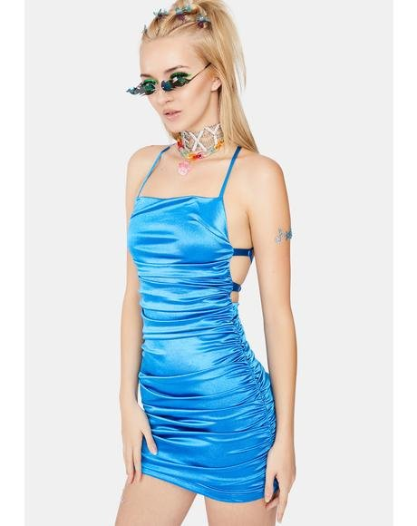 Sweet Disaster Satin Dress