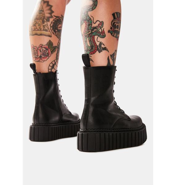 Lamoda Stormz Chunky Creeper Ankle Boots