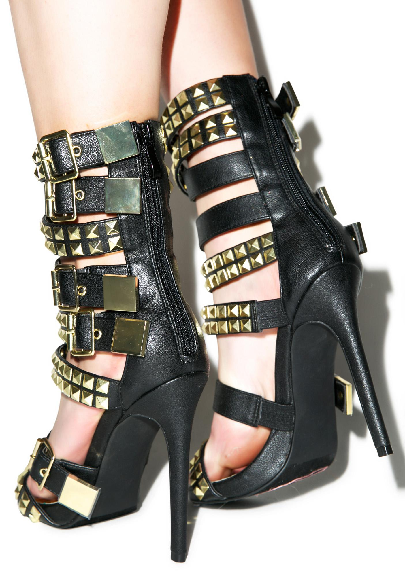 Naveh Buckled Heels
