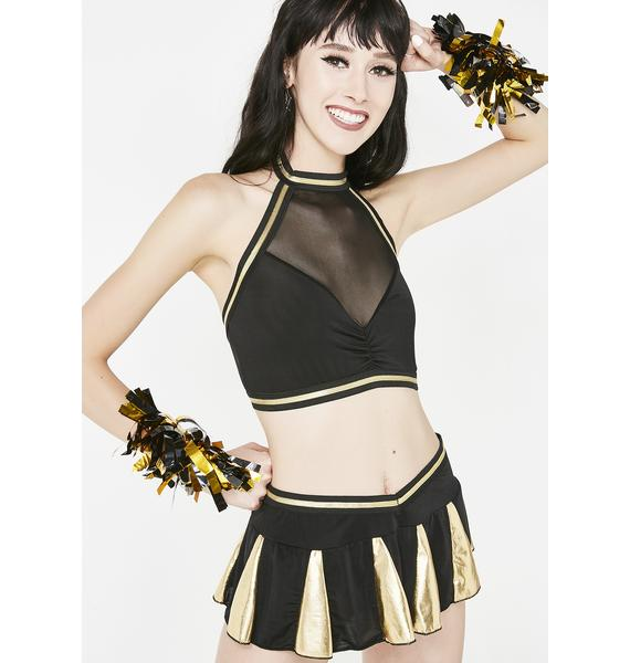 Crowd Pleaser Cheerleader Costume