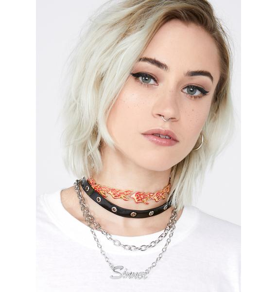 Sassy Sinner Layered Necklace