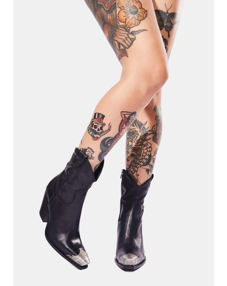 Brayden Leather Western Boots