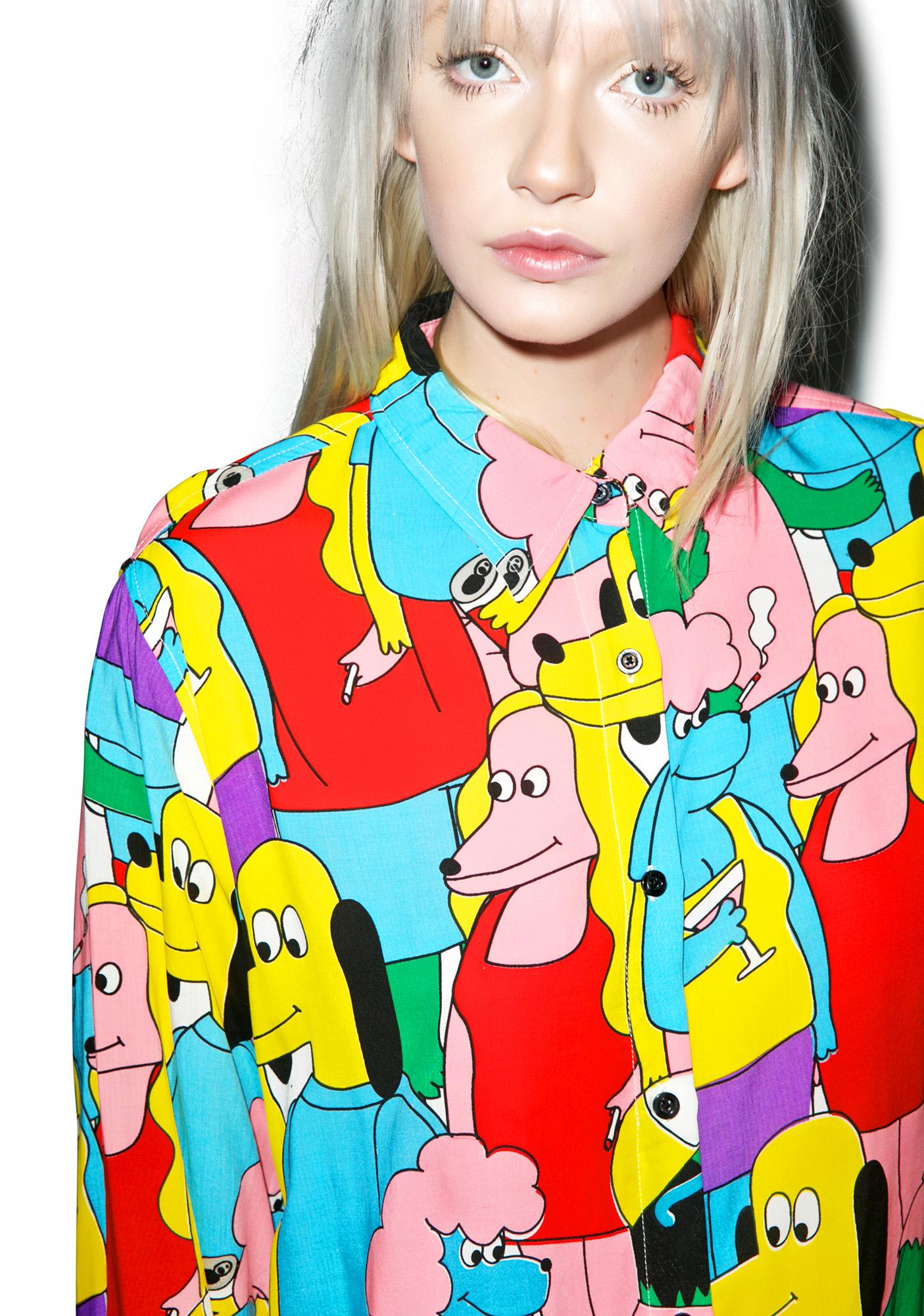 Lazy Oaf Dog Party Shirt