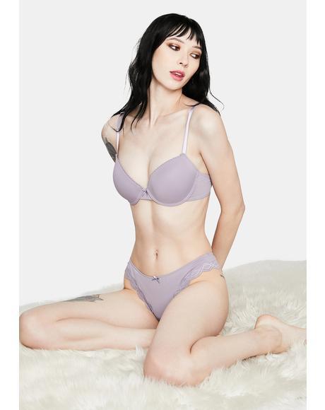 Purple All Lust No Love Lingerie Set