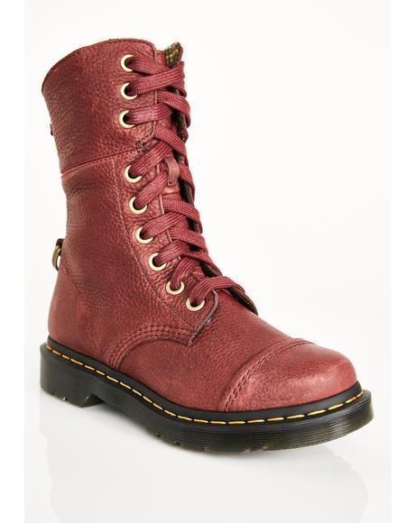Oxblood Aimilita Boots