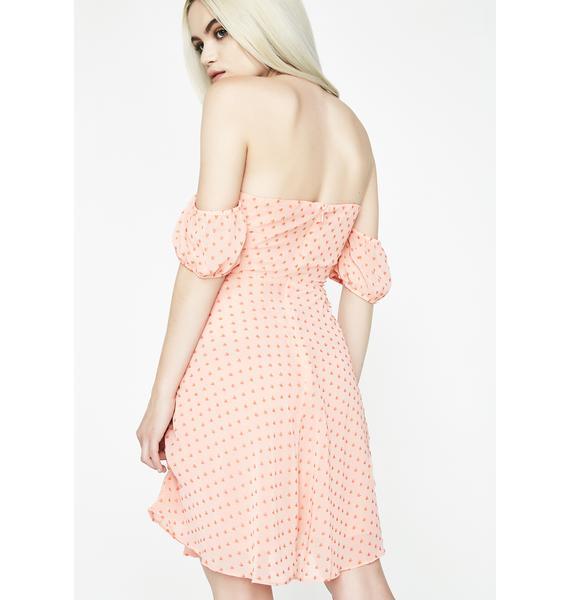 Glamorous Goodie Goodie Off Shoulder Dress