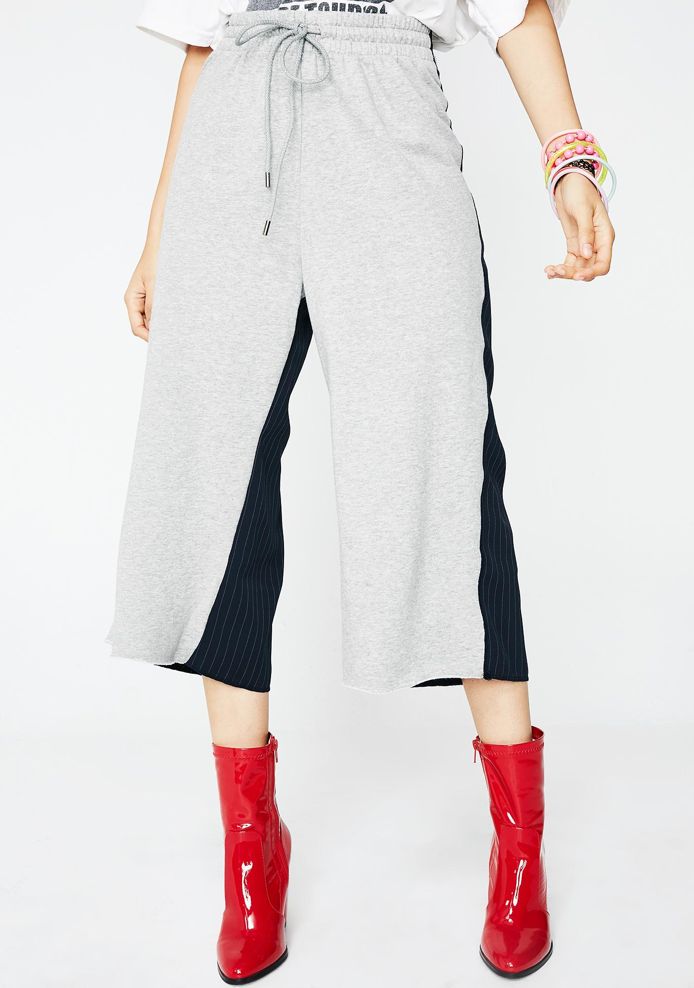 Back To Back Cropped Sweatpants