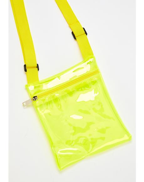 Lemon Lollipop Electro Crossbody Bag