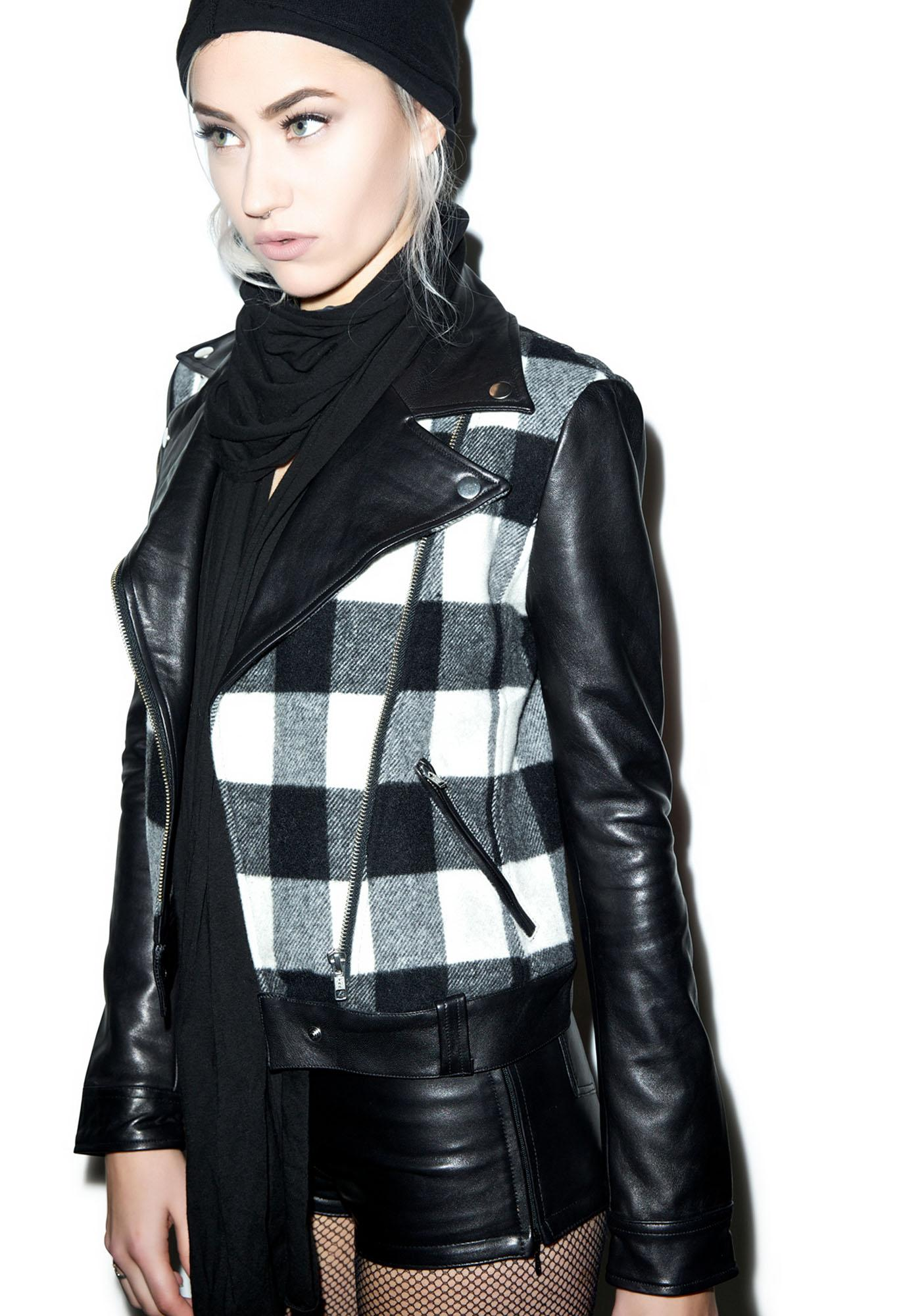 Black Scale Outlaw Jacket