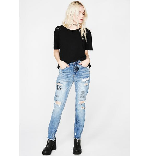 Take Notez Distressed Jeans