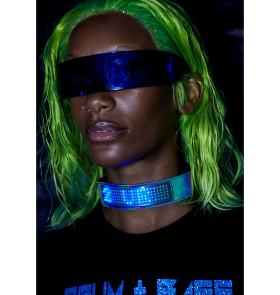 Club Exx Beamed Up Baddie Light-Up Choker