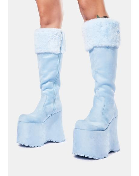 Blizzard Babe Knee High Boots