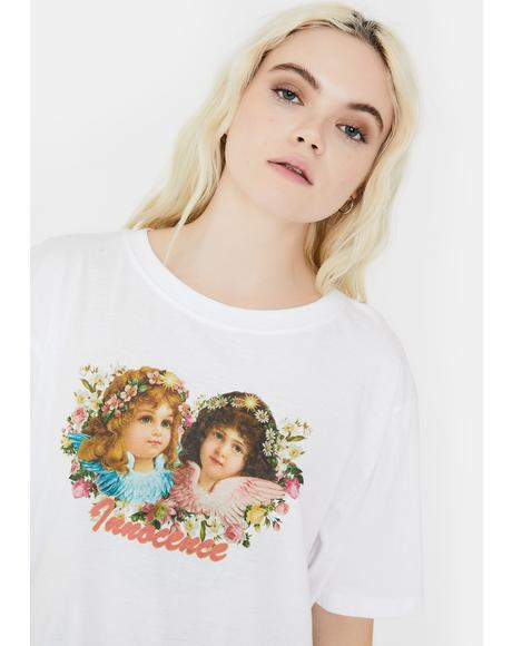 Innocence Oversized Graphic Tee