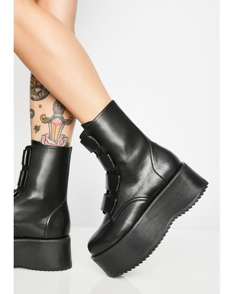 Eye Of The Storm Platform Boots
