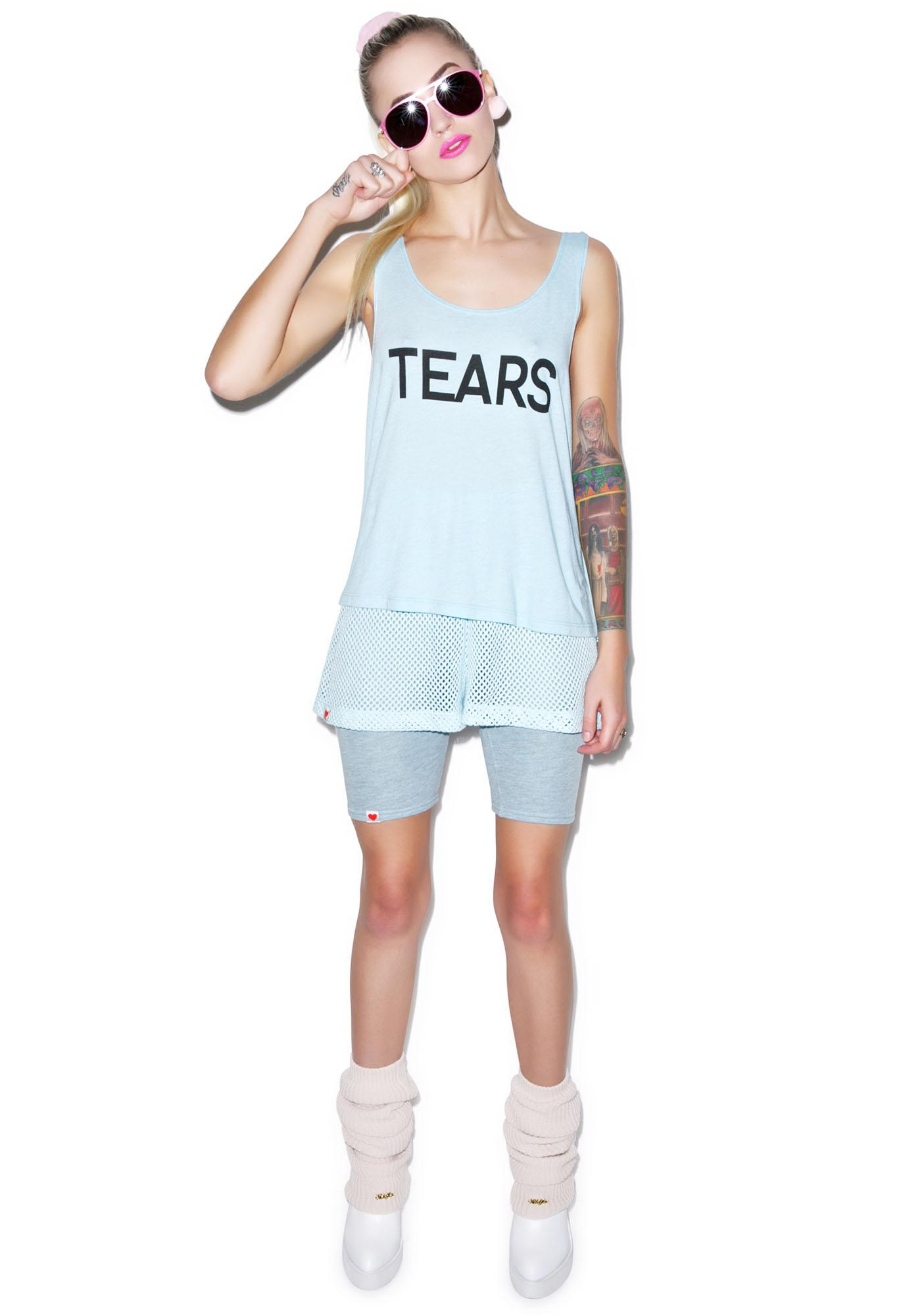 Wildfox Couture Tears Boy Tank