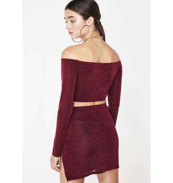 Siren Slay Mini Skirt Set