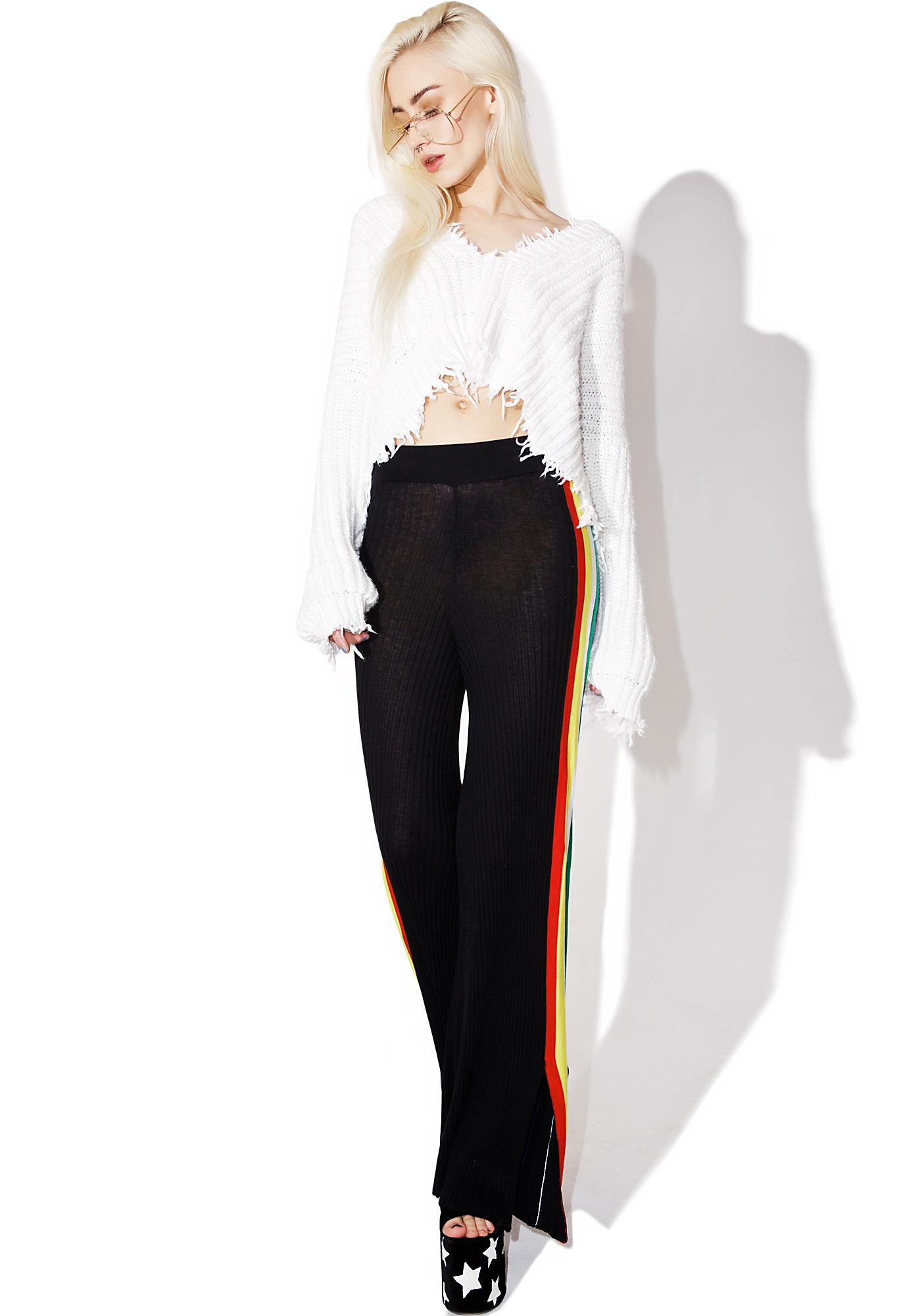 Wildfox Couture Racing Stripe Avala Pants