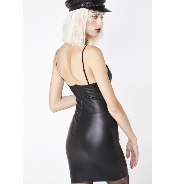 Wicked Strut Mini Dress