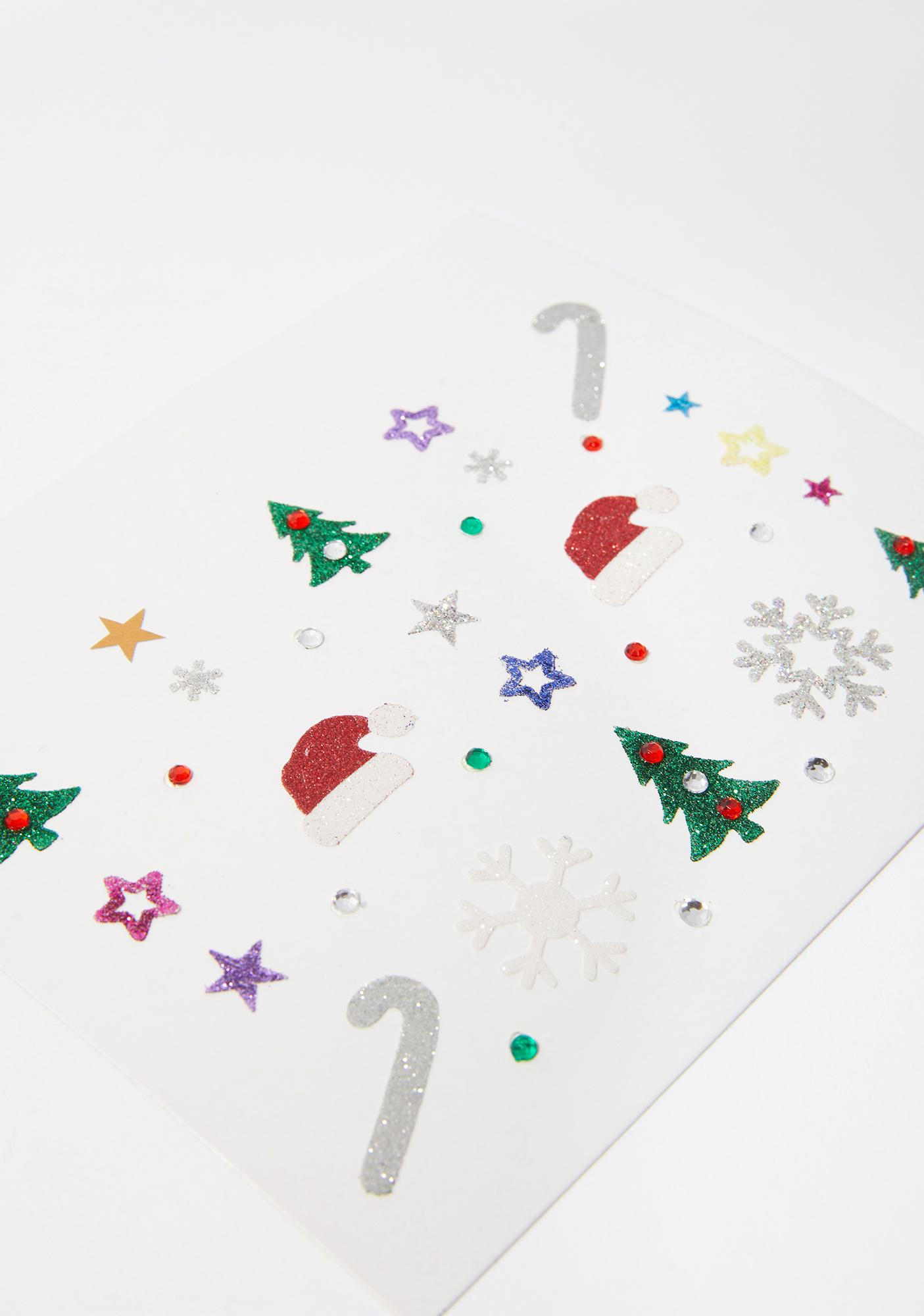 Holiday Magic Face Stickers