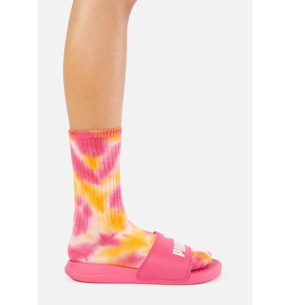 PUMA Pink Popcat 20 Slides