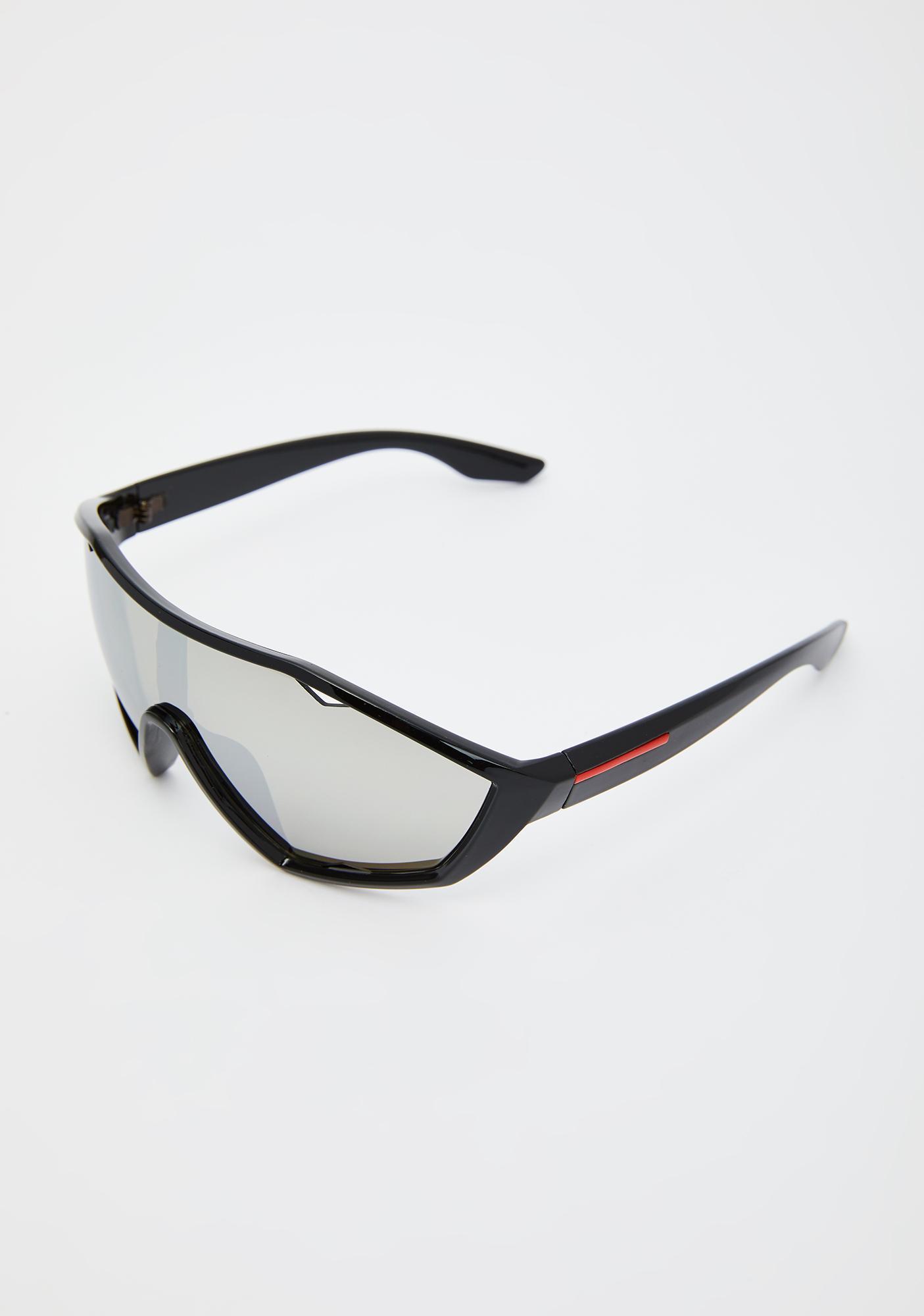 Chrome Rage Vortex Shield Sunglasses