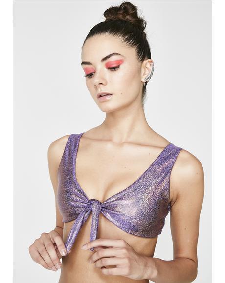 Purple Potion Bikini Top