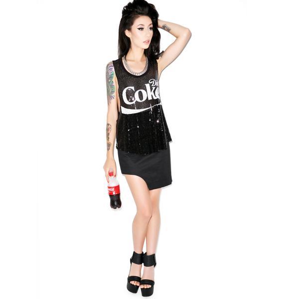 Diet Coke Sequin Tank