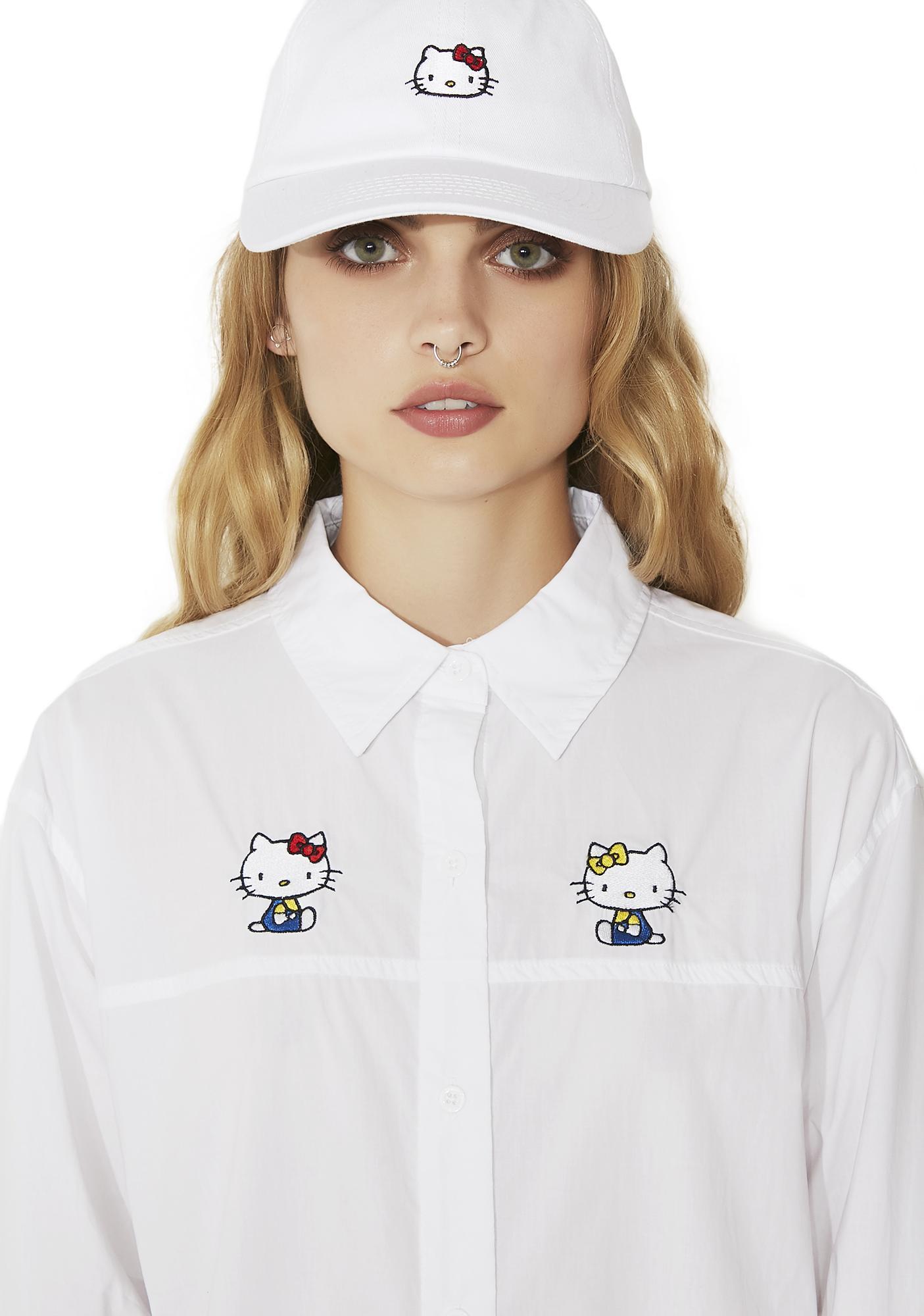 Lazy Oaf Hello Kitty Bow Tie Shirt