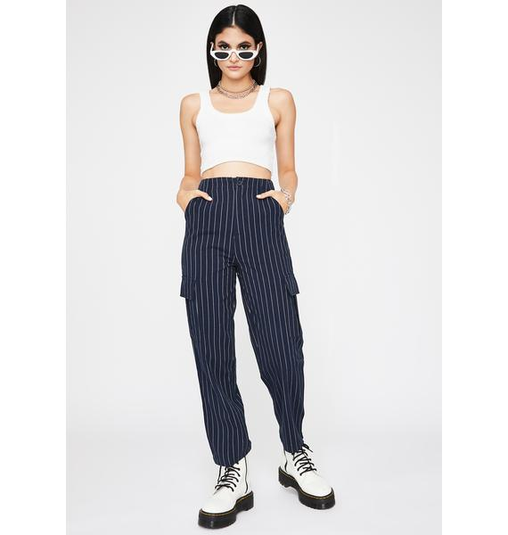 Midnight Mob Life Pinstripe Pants