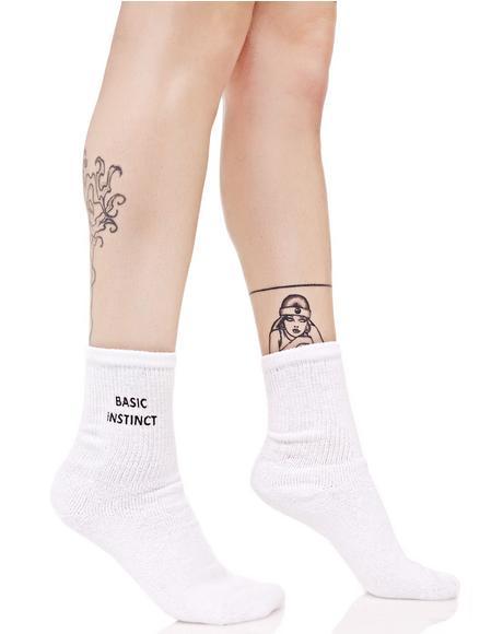 Basic Instinct Socks