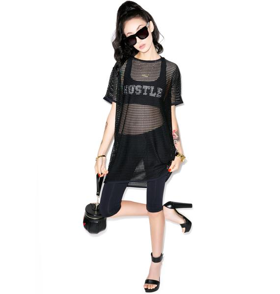 Hot!MeSS Oversized Mesh Tee