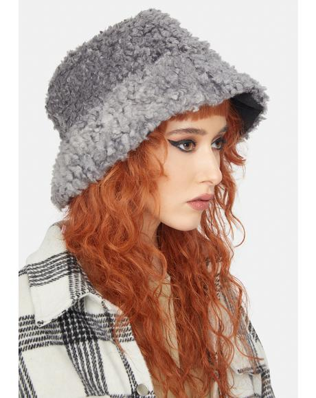 Dove Hot Head Sherpa Bucket Hat