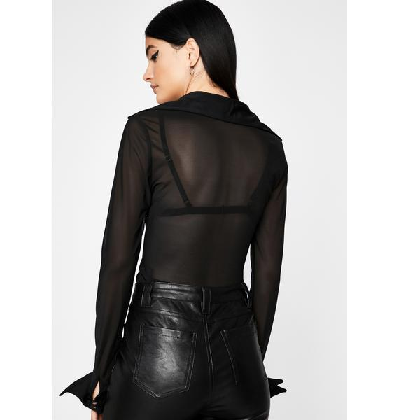 Movin' Up Collared Bodysuit
