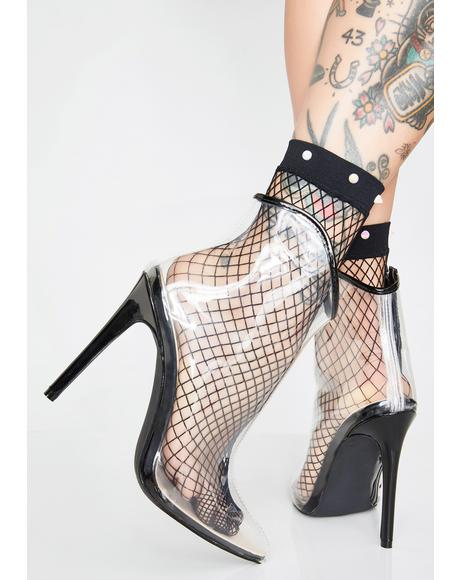 Supernova Fishnet Socks
