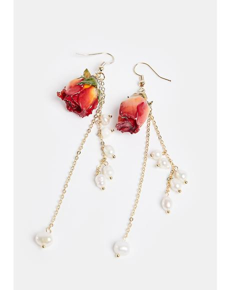 Greatest Treasure Resin Drop Earrings