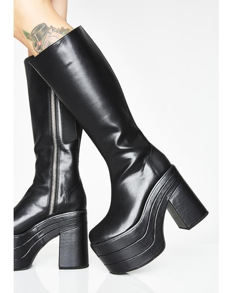 Party Qween Platform Boots