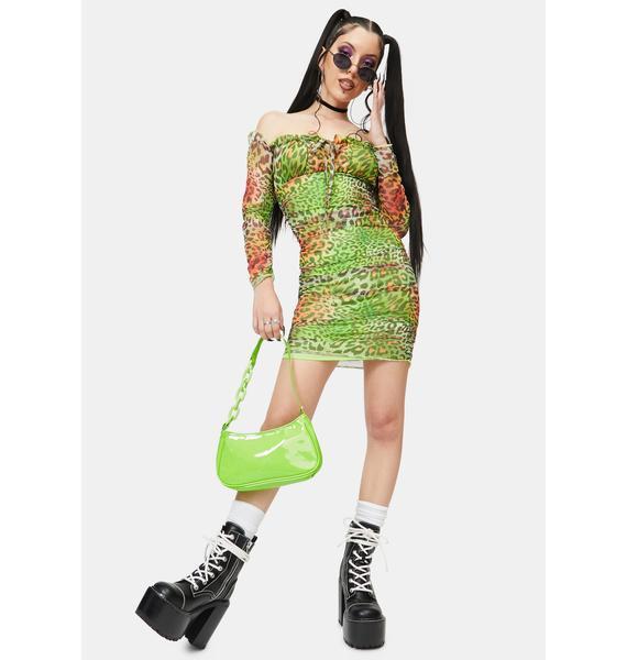 NEW GIRL ORDER Tropical Animal Dress