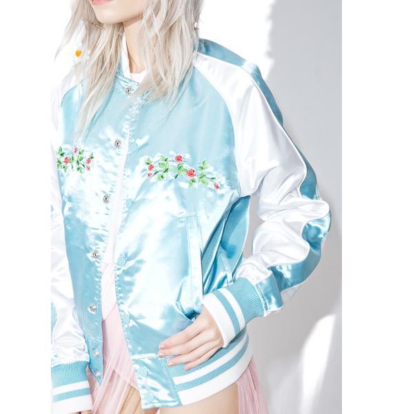 MadeMe Pretty On The Inside Varsity Jacket