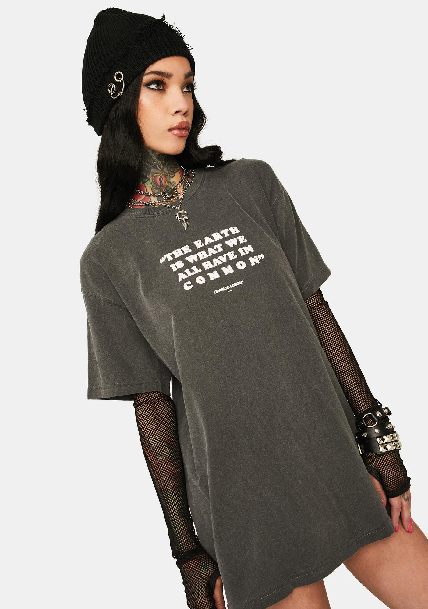 Learn To Forget Common Earth Premium Graphic Tee