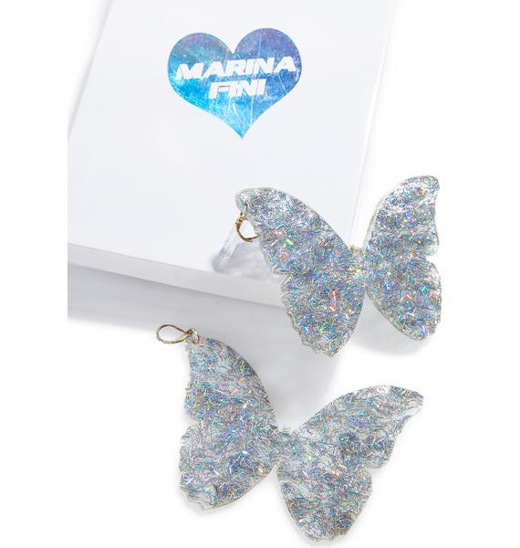 Marina Fini Butterfly Dream Earrings