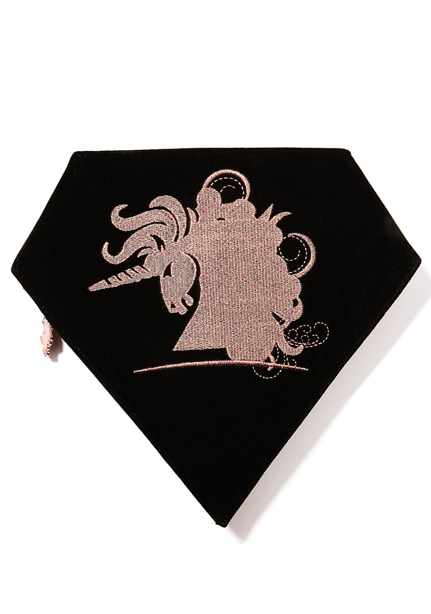 Unicorn Lashes Royale Rose Gold Unicorn Brush Set
