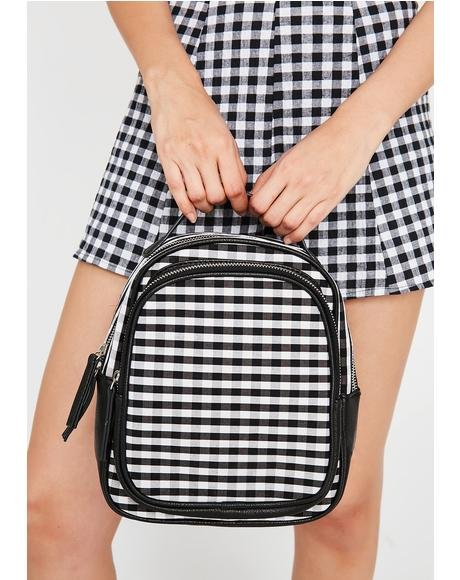 Skippin' Along Gingham Backpack