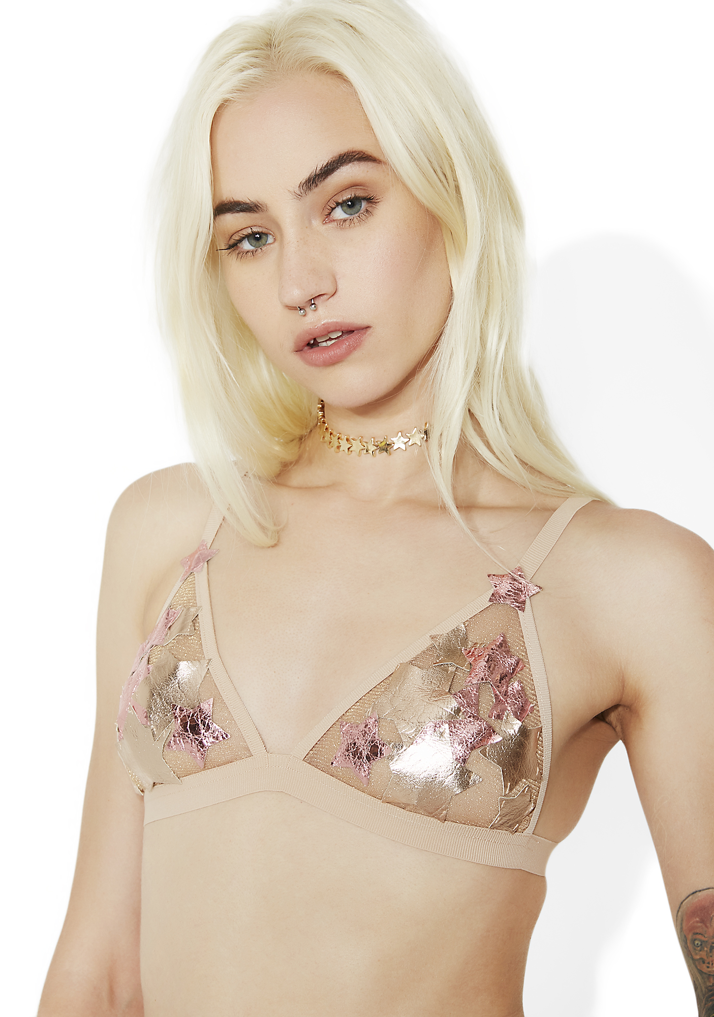 For Love & Lemons Constellation Bra