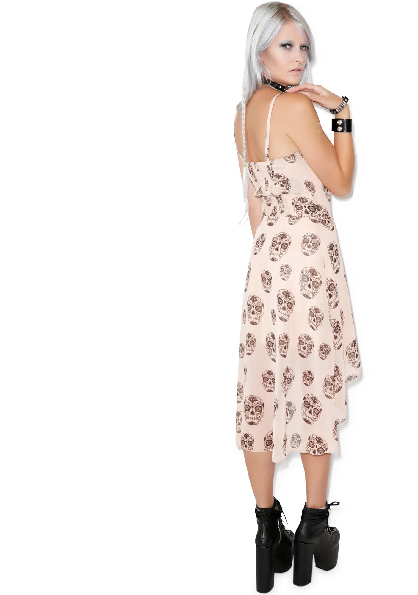Suga Mama Chiffon Hi-Low Dress