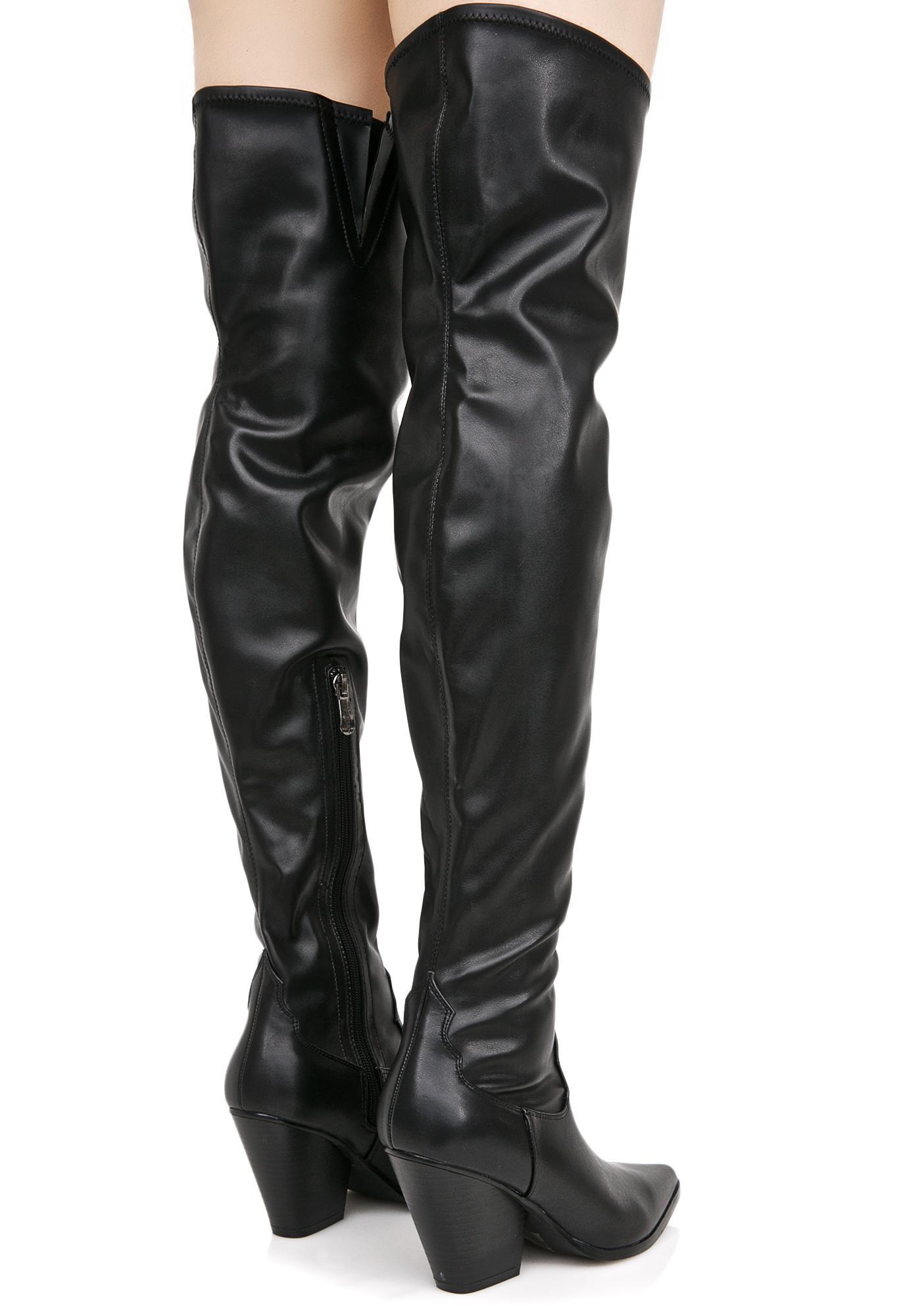 Dusk Till Dawn Thigh-High Boots